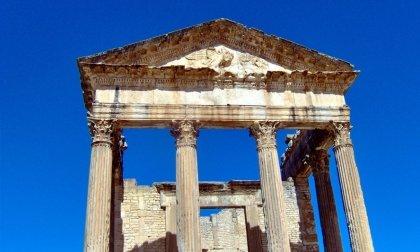 Die Ruine der antiken Stadt Dougga, Christo Iliev
